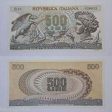 RIPRODUZIONE 500 LIRE TESTA DI ARETUSA BIGLIETTO DI STATO A CORSO LEGALE FDS UNC