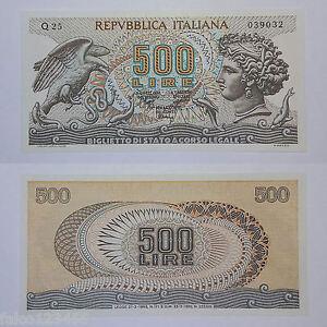Riproduzione 500 Lire Testa Di Aretusa Biglietto Di Stato A Corso Legale Fds Unc Wp6j2lrr-07232055-562190576