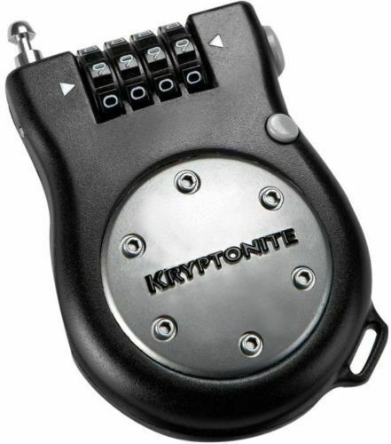 ***BRAND NEW*** KRYPTONITE KRYPTOFLEX 1218 COMBO CABLE LOCK BLACK