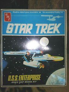 AMT-ERTL-U-S-S-ENTERPRISE-SPACE-SHIP-MODEL-KIT-STAR-TREK-1983-NEW-SEALED-MIB
