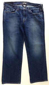 Lucky-Brand-Summer-Sweet-N-Low-Crop-Sz-10-30-Distressed-Women-039-s-Capri-Jeans