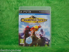 ps3 CHAMPION JOCKEY G1 Jockey & Gallop Racer Horse Racing Game Playstation PAL