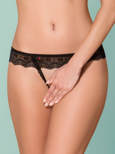 864-thc-1 Crotchless THONG Tange
