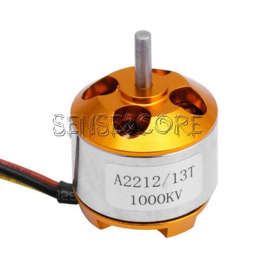 A2212 930//1000//1400//2200//2700KV Brushless Drone Outrunner Motor For Aircraft Neu