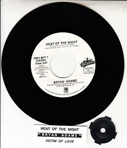 BRYAN-ADAMS-Heat-Of-The-Night-7-034-45-rpm-vinyl-record-NEW-jukebox-title-strip