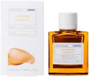 Korres-Eau-de-Toilette-Kaschmir-Kumquat-Damenparfuem-88-natuerlicher-Inhalt