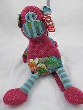 "GANZ Watermark Monkey Plush Toy 15"" - NEW"