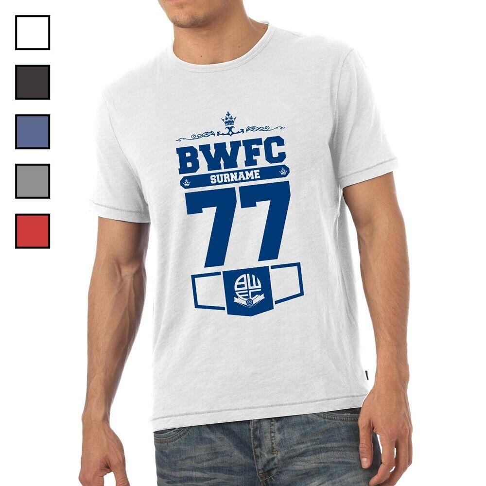 Bolton Wanderers F.C - Personalised Mens T-Shirt (CLUB)