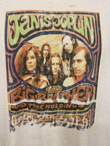 Vintage Single Stitch Janis Joplin T Shirt Tee Iro