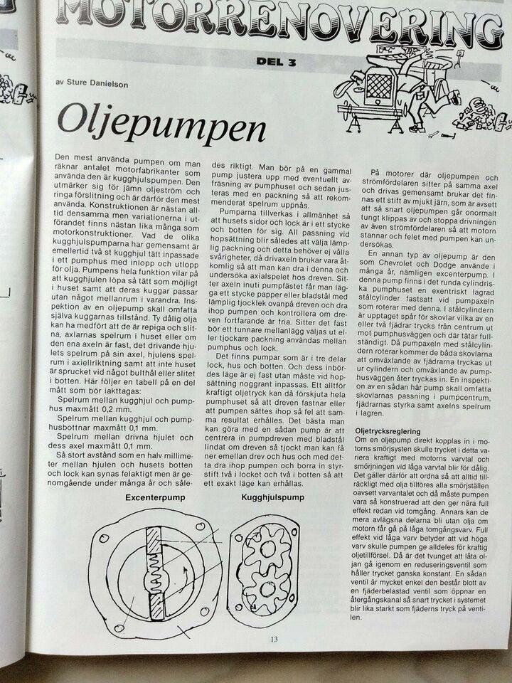 20 års Jubilærums udgave fra Clasic motor fra 1989