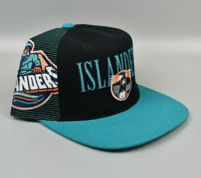 New York Islanders Sports Specialties Laser Shadow Vintage 90's Snapback Cap Hat