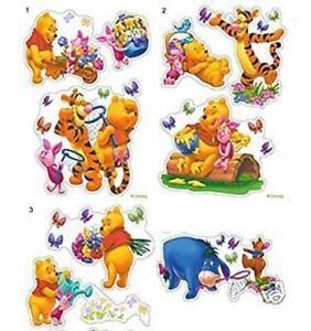 Winnie the Pooh Eeyore Piglet Tigger Friends Childrens Bedroom Decor Sticker Set