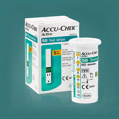 Accu-chek Active Test Strips Diabetic Blood Medical Check for Diabetes Aids