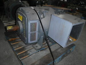 Image Is Loading 200 Hp Dc General Electric Motor 1750 Rpm