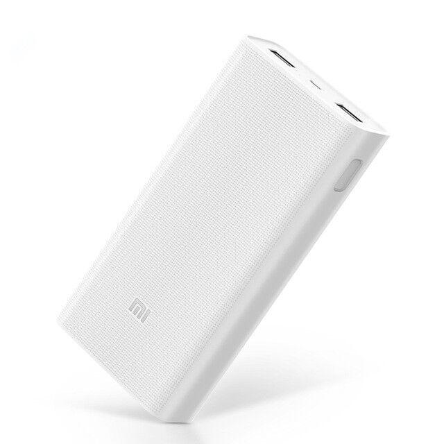 Xiaomi Mi Power Bank 2C 20000mAh Quick External Phone Portable Battery Charger