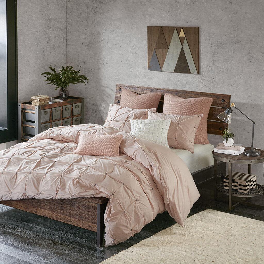 Comforters Sets Ink Ivy Alpine Full Queen Size Bed Comforter Set Grey Aqua Ivory Pieced Che Home Garden