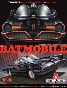 Polar-Lights-907-Batman-1966-TV-Series-Batmobile-2-Kit-Set-Snap-and-Glue-1-25