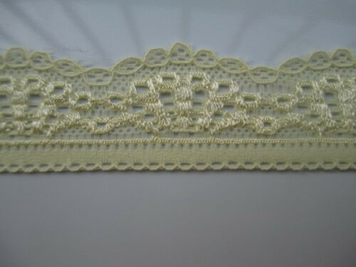 Beautiful Embroidered stretch lace 10//30//50 yards a variety of colors