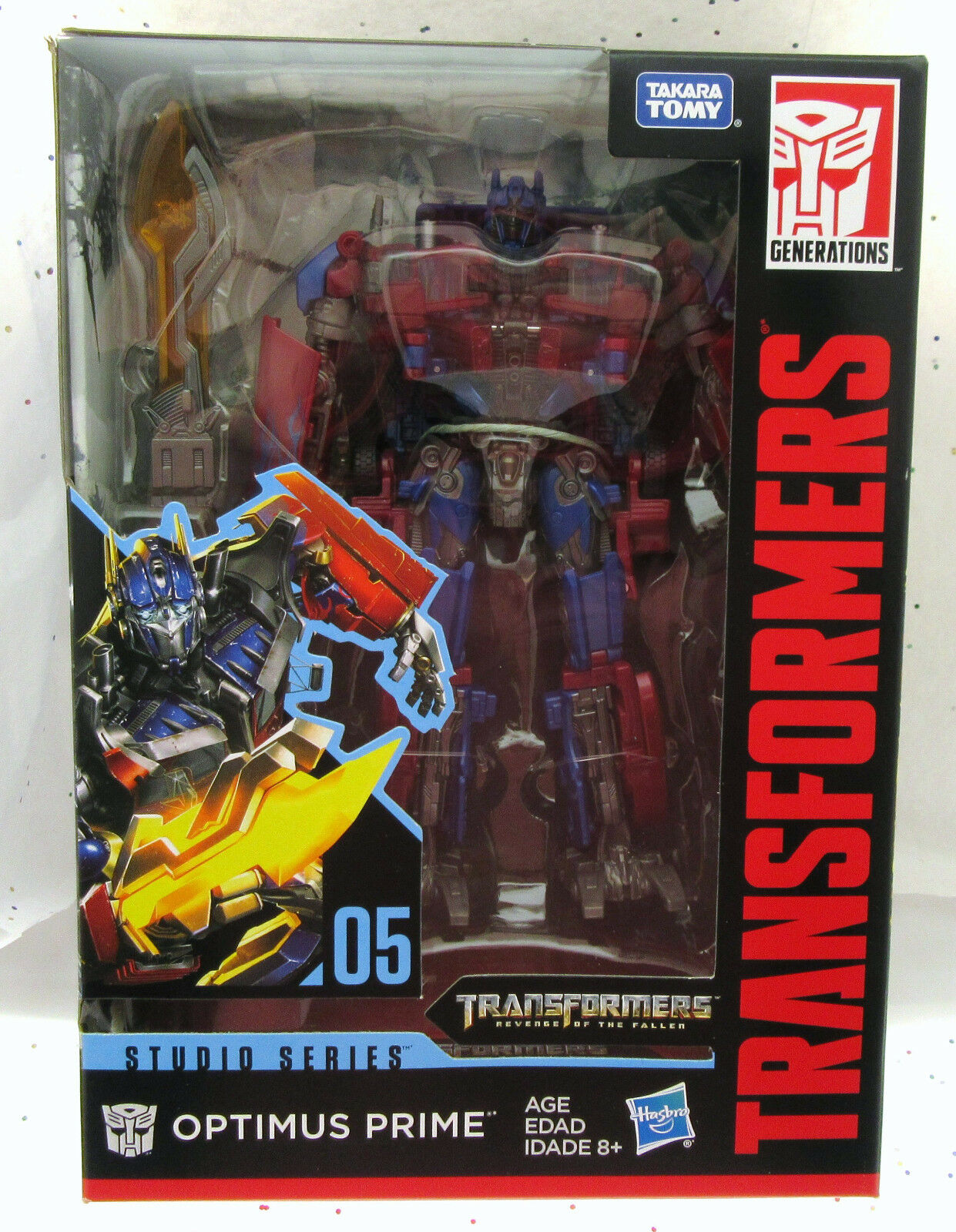 Optimus Prime 05, Studio Series, bilbot, Hasbro.