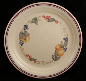 Corning-Corelle-ABUNDANCE-Indented-Luncheon-Plate