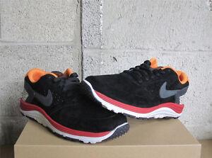 Nike SB Lunar Rod Primitive Safari Black Red Orange DS Sz 6 537693-008