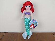 "Disney Princess Ariel Plush Toddler Doll 11/"" Just Play 2017 The Little Mermaid"