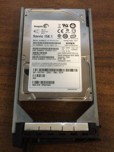"Seagate Savvio 15K.1 ST973451SS 2.5/"" 73GB SAS Hard Drive W//caddy"