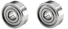 (2 pc) 625Z Shielded Miniature Bearing ID 5mm OD 16mm Width 5mm W625Z  625ZZ NMB