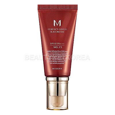 [MISSHA] M Perfect Cover BB Cream (SPF42/PA+++) 50ml #23 Natural Beige