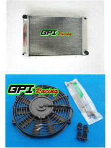 3row-fit-Triumph-TR8-3-5L-V8-1978-1981-80-1979-Manual-Aluminum-Radiator-FAN