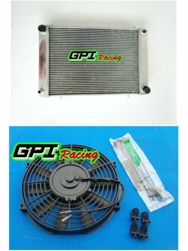 62MM For Triumph TR8 3.5L V8 1978–1981 1980 79 Manual Aluminum Radiator FAN