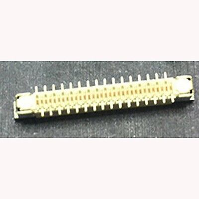 5pcs 32pin 0.5mm Vertical ffc//fpc Connector Offset With Lock Connectors