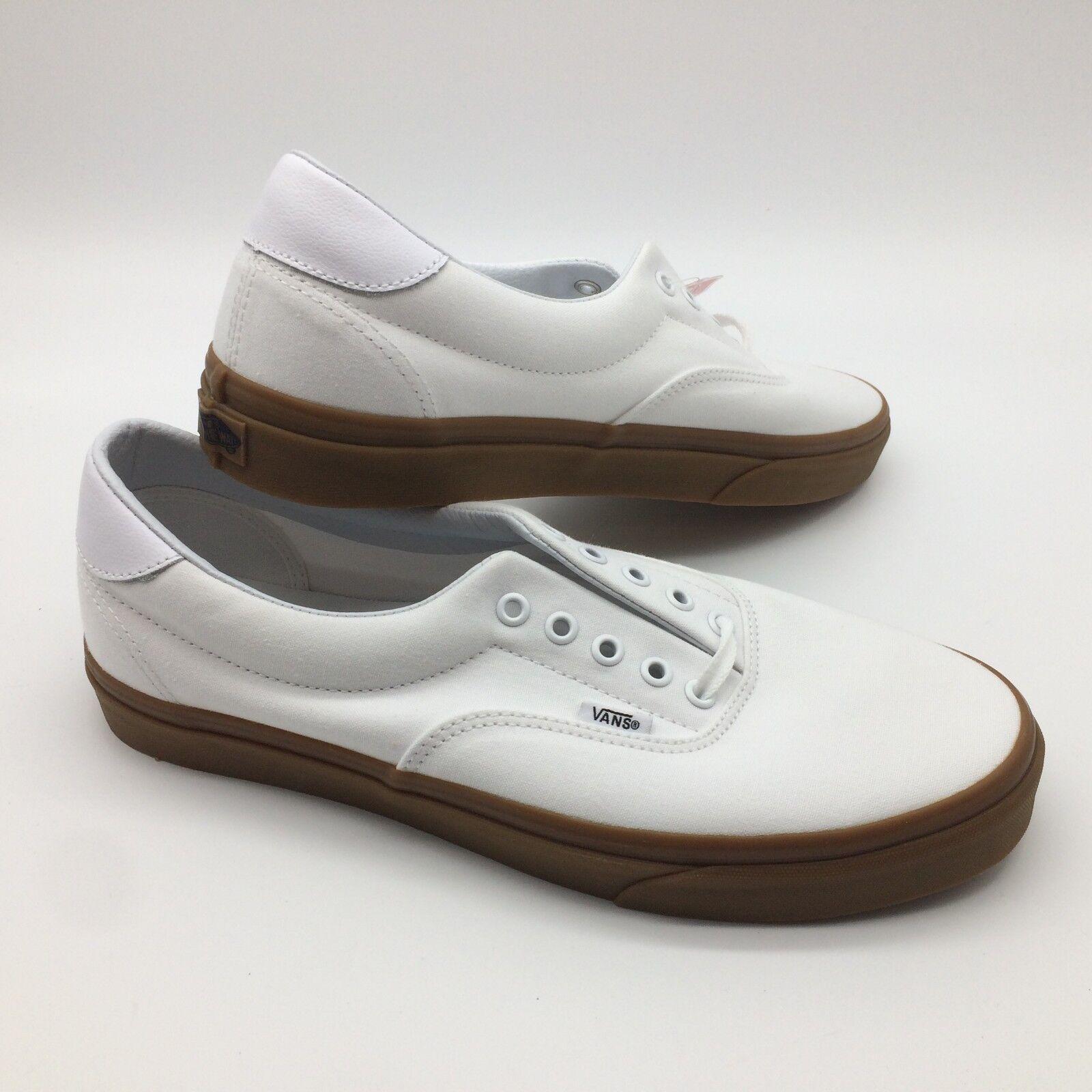 Vans Herren Schuhe   Era 150cm (Leinen Gum) Weiß Hell Gum