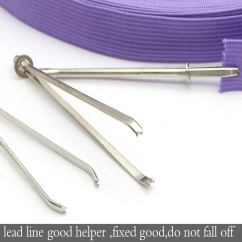 10Pcs//bag Adjustable Clip Elastic Rope Threader Guide Device Sewing Tools