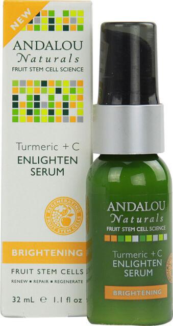 Andalou Naturals 1162296 Enlighten Serum Turmeric C Brightening 1 1 Oz For Sale Online Ebay