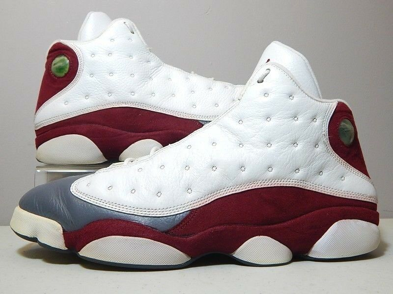 check out 92142 d36a6 Nike Shoes - 2004 Jordan 13 XIII XIII XIII Flint Grey Toe - Team Red White
