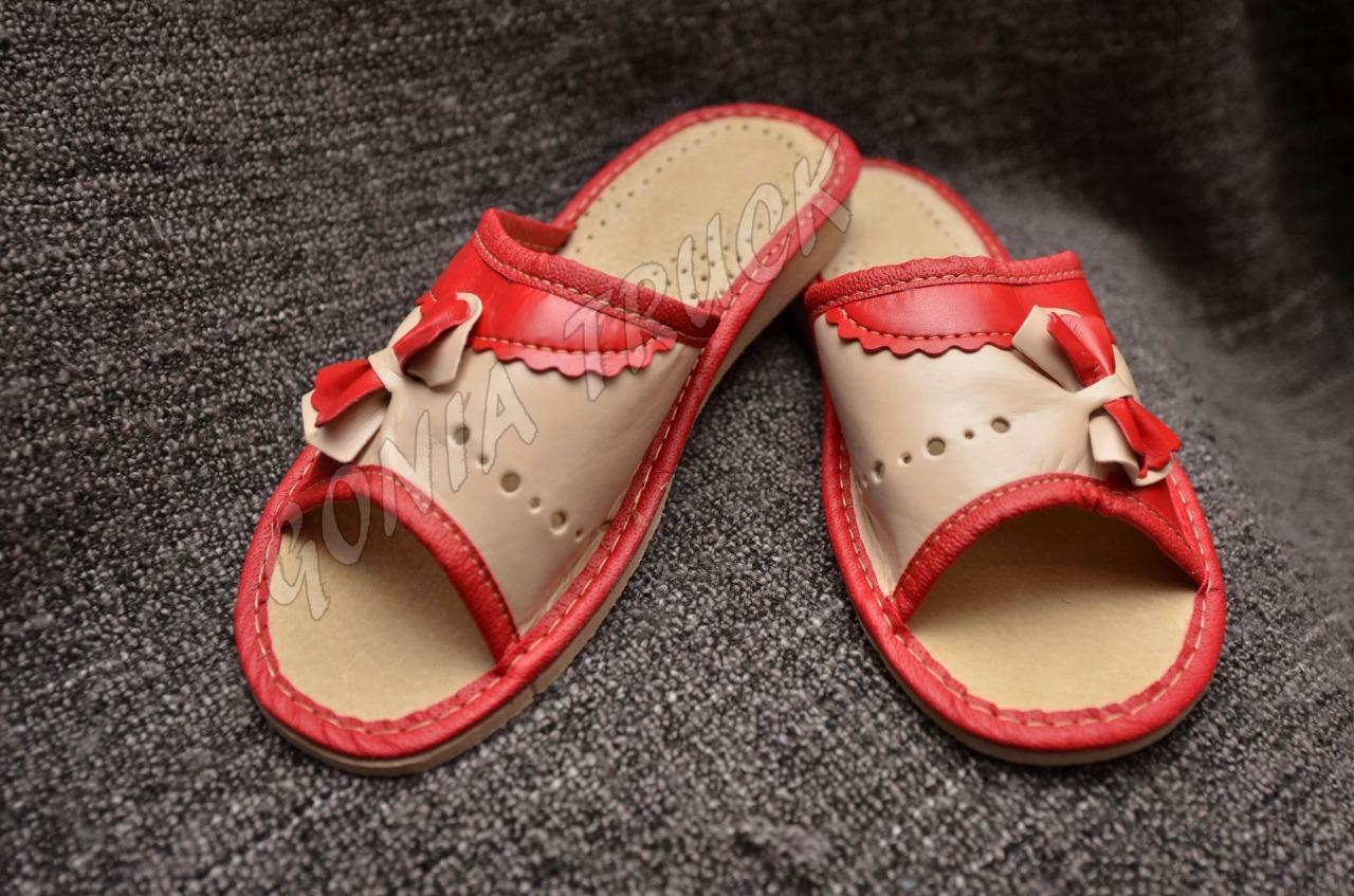 ~ 100% LEATHER ~ WOMEN'S SLIPPERS
