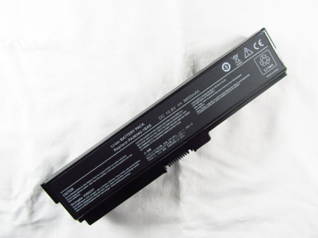 12 Cell 8800mAh Battery for TOSHIBA Satellite C640 T130 A660 C650D C670 L635