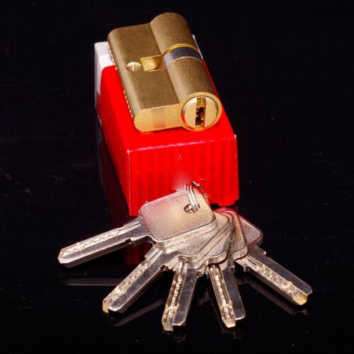Zylinder Türschloss Schließzylinder Zylinderschloss 5 Schlüssel 30//30 mm 60 mm