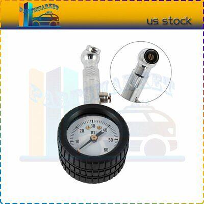 0-60PSI Car Truck Tire Air Pressure Gauge Auto Tyre Dial Meter Testers Tools