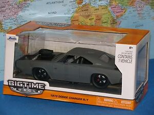 1-24-Jada-Bigtime-Muscolo-1970-Dodge-Charger-R-T-Metallo-Pressofuso-Marca-New-amp