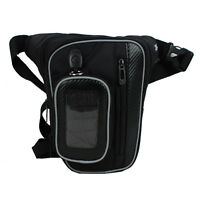 New Men's Riding Racing Motorcycle Messenger Fanny Pack Waist Leg Thigh Drop Bag