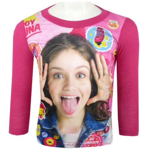Shirt Langarmshirt Disney Soy Luna Pink Gr 104-152