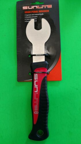 Pedal Wrench 15mm Universal Tool to Remove Pedals Sunlite