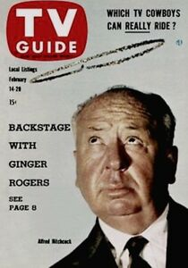 TV Guide 1959 Alfred Hitchcock GAI 1st Graded Encapsulated NM 7 Issue #307 V7N7