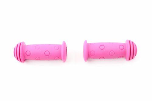 """Roller Kinder Fahrrad Laufrad /""""Basic Pink/"""" 001975 Widek Lenkergriffe Griffe f"""