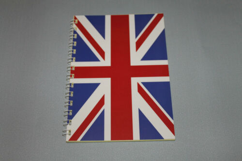 Legal Pad Union Jack Block DIN A5 London England Großbritannien Mein Block