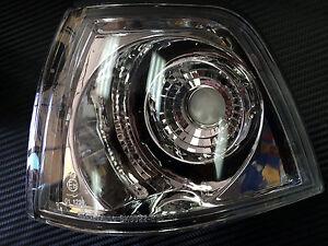 4Dr Sedan//Hatchback Euro Corner Turn Lights GY For 1992-1998 BMW E36 3-Series T1