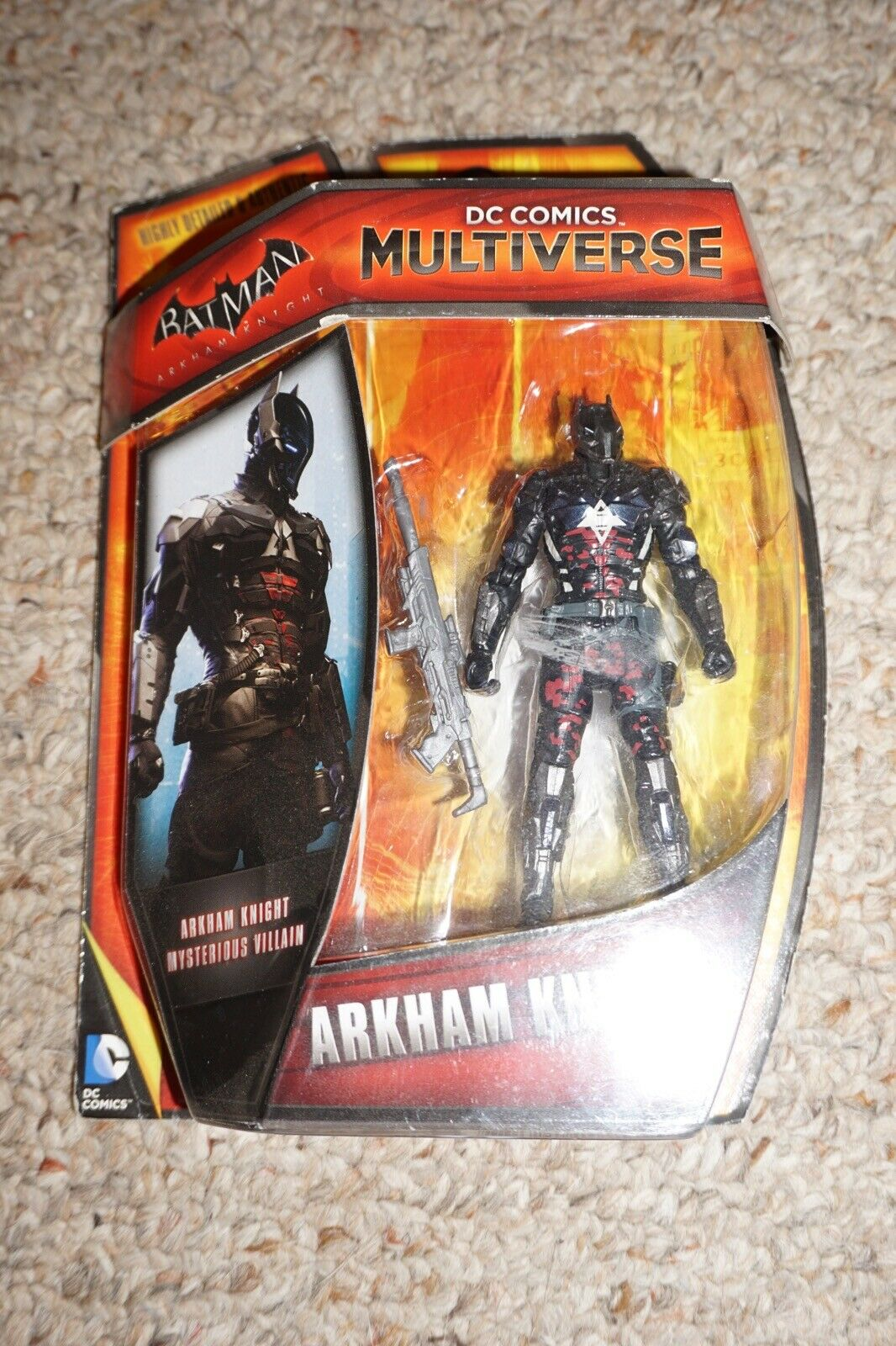 Dc Comics  Multiverse Arkham Knight Mysterious Villain nuovo Sealed  H8 cifra  colorways incredibili