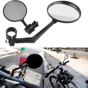 Bicycle-Rearview-Handlebar-Mirrors-Cycling-Rear-View-Silicone-Handle-MTB-Bike